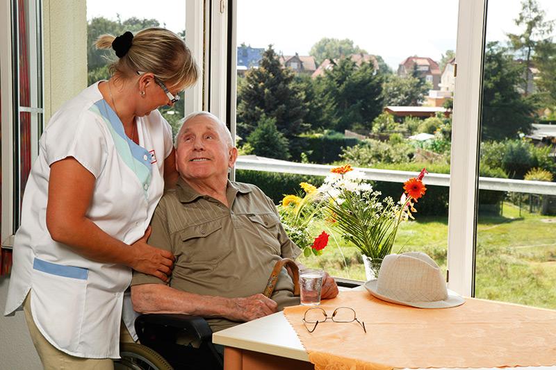 Einzug ins Pflegeheim Berka/Werra